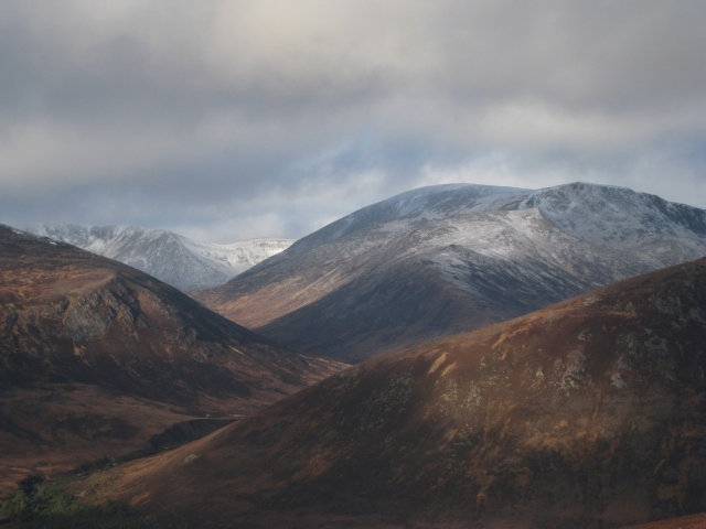 Ben MacDui from Sgor Mor, Cairngorms