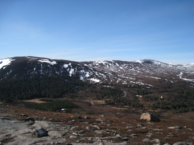 Sgor Mor from Carn Crom, Cairngorms