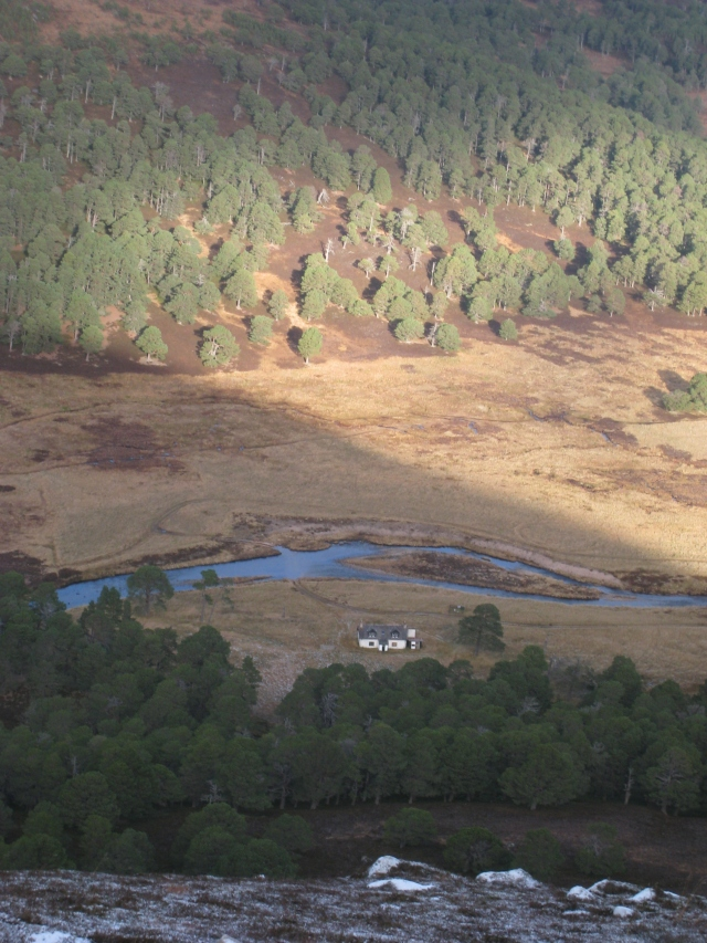 Luibeg Cottage, Glen Lui, Cairngorms
